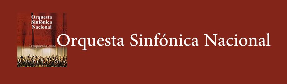 Orquesta Sinfonica Nacional